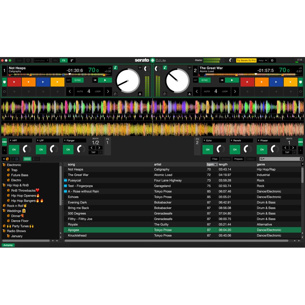 Pioneer DDJ-SB3 Controller, Serato DJ Lite & Official Pioneer Bag